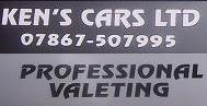 Ken's Cars - Professional Car Valeting.